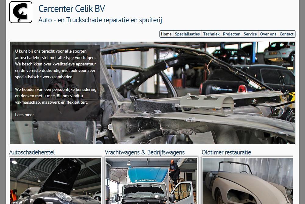 Nieuwe Website Carcenter Celik